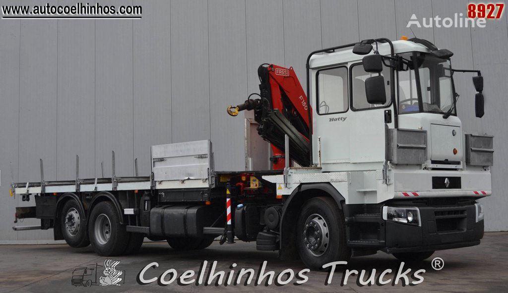 RENAULT 320 DXi camión caja abierta