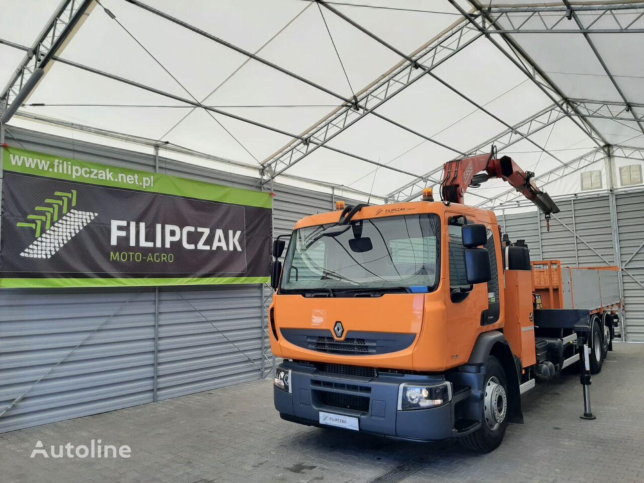 RENAULT Premium 370 camión caja abierta