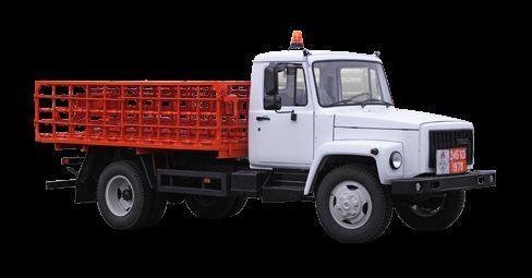 GAZ KT-602-01 camión caja abierta nuevo