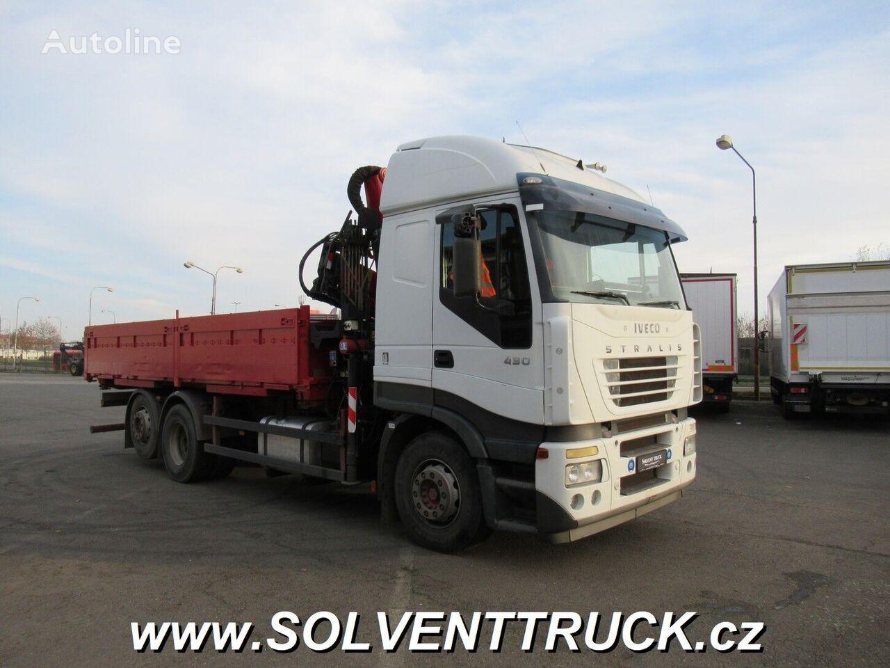IVECO Stralis camión caja abierta