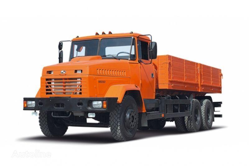KRAZ 65053 camión caja abierta