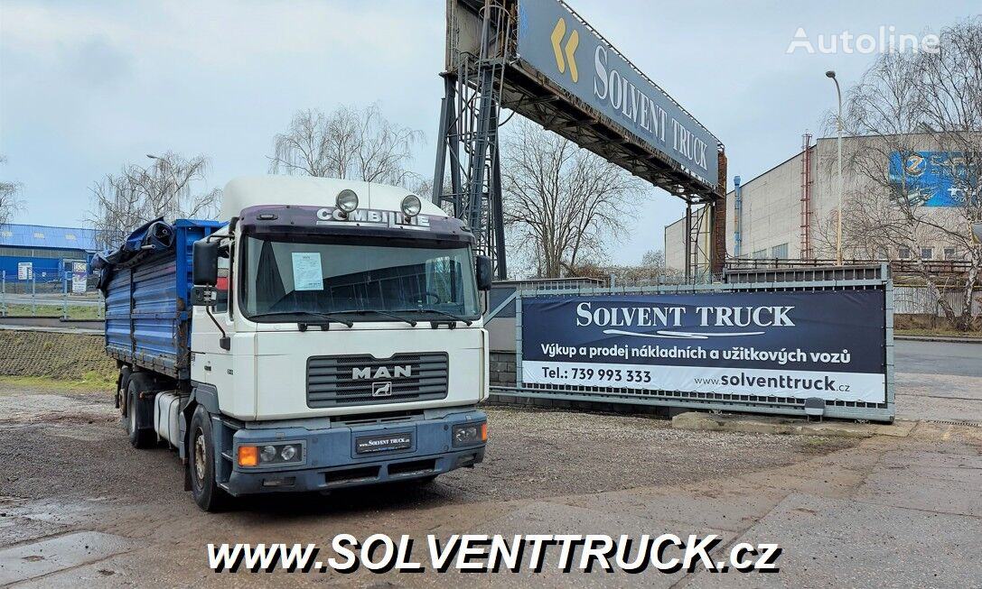MAN F2001 26.414 camión caja abierta