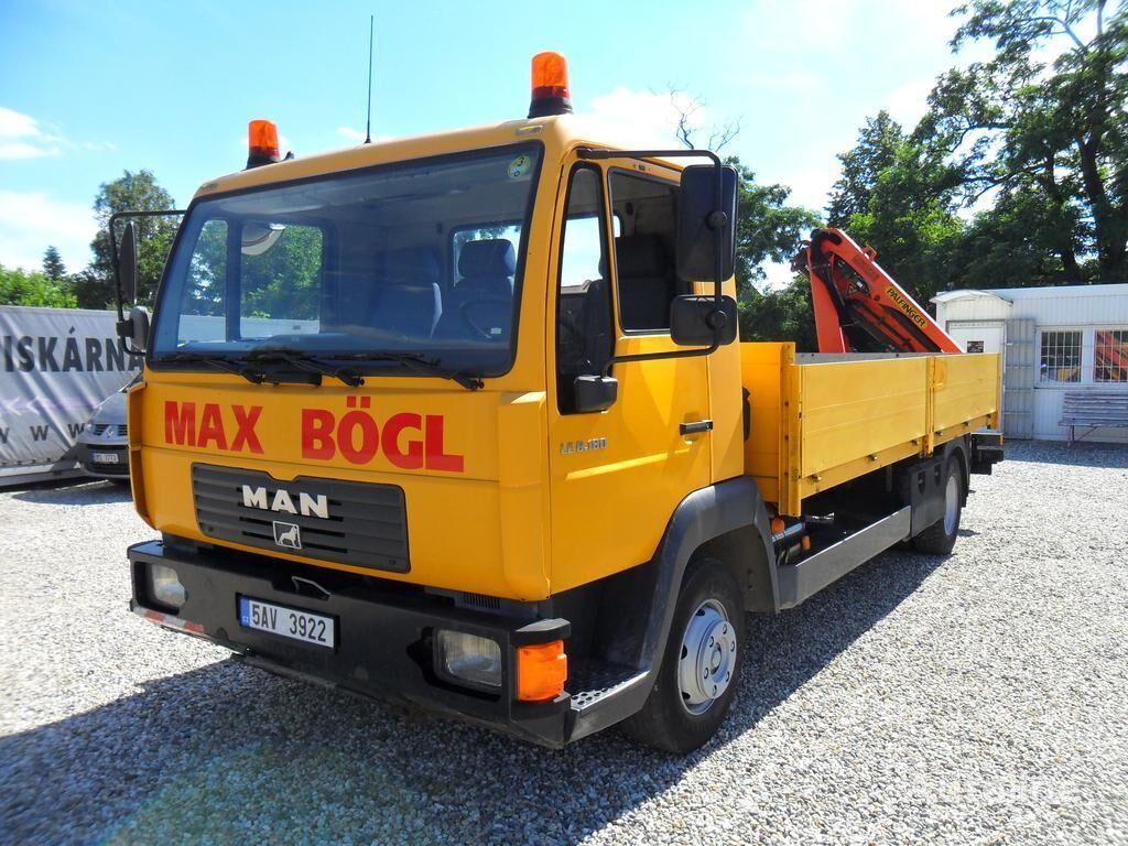 MAN LE 8.180 RUKA PK4501 camión caja abierta