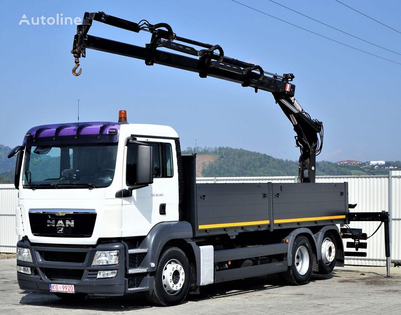 MAN TGS 26.360 camión caja abierta