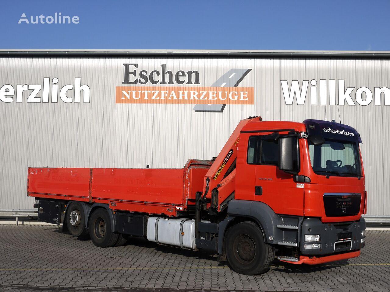 MAN TGS 26.360BL  camión caja abierta