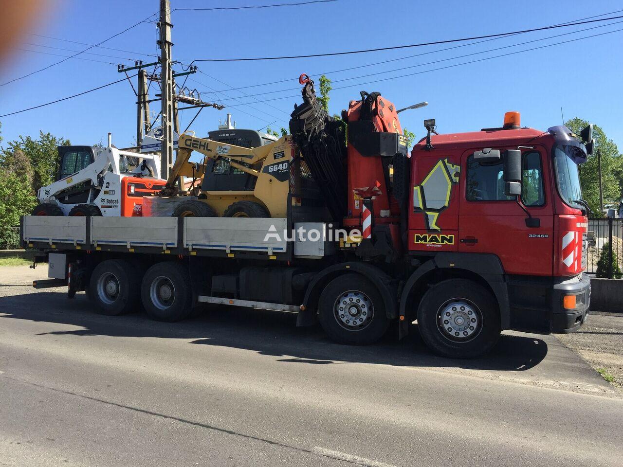 MAN VFL 32.464 camión caja abierta
