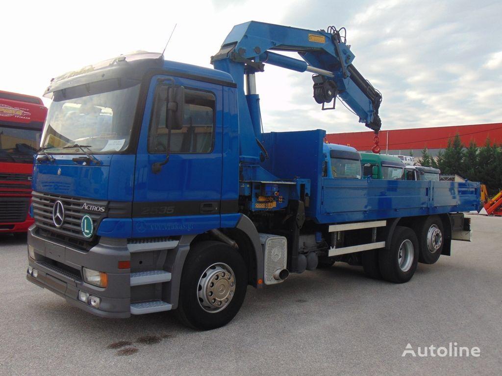 MERCEDES-BENZ 2535 L ACTROS  camión caja abierta