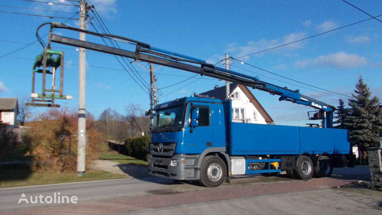 MERCEDES-BENZ ACTROS 2644 camión caja abierta