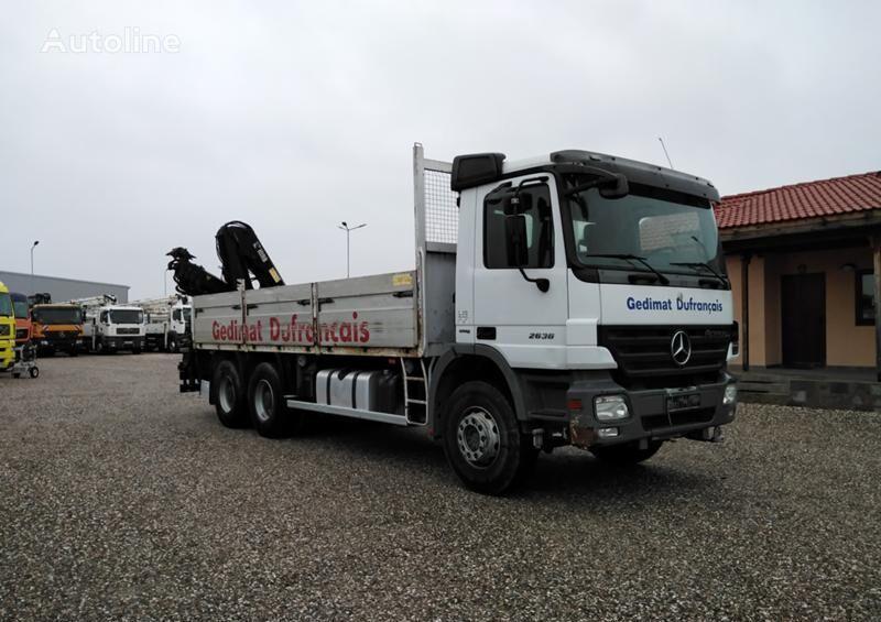 MERCEDES-BENZ Actros 2636  camión caja abierta