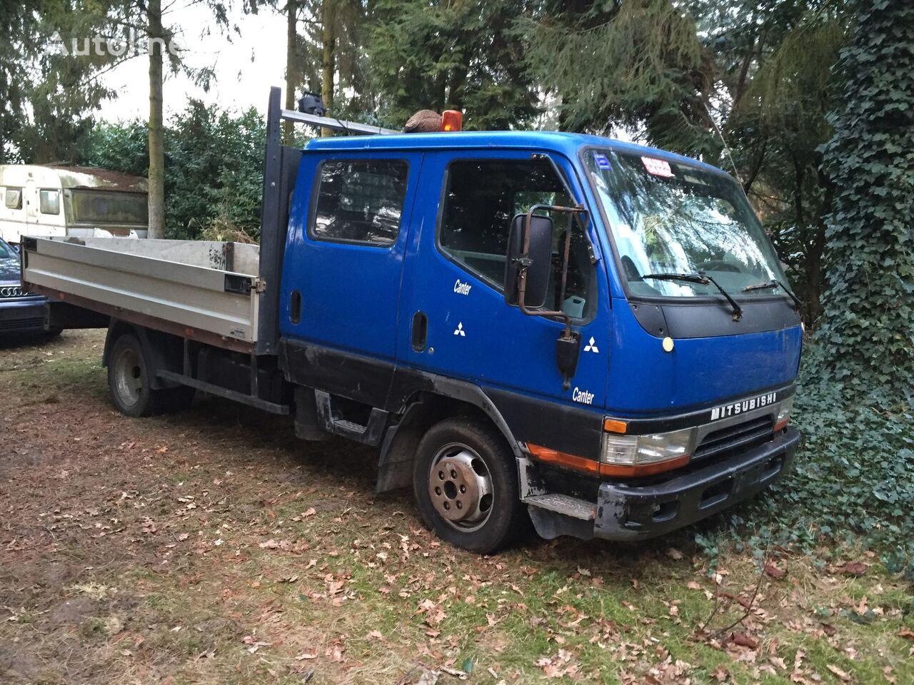MITSUBISHI CANTER camión caja abierta