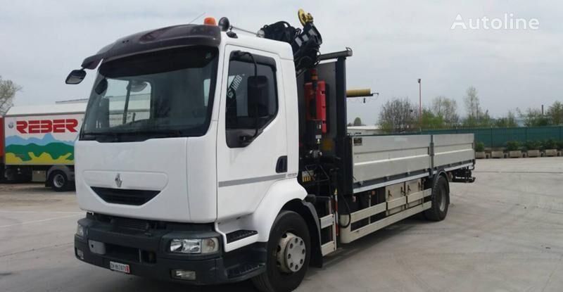 RENAULT Midlum 270 camión caja abierta