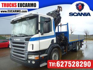 SCANIA P 360 camión caja abierta
