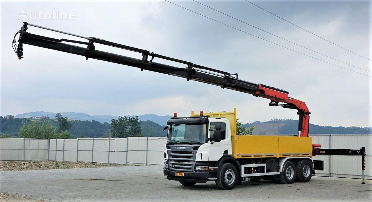 SCANIA P340 camión caja abierta