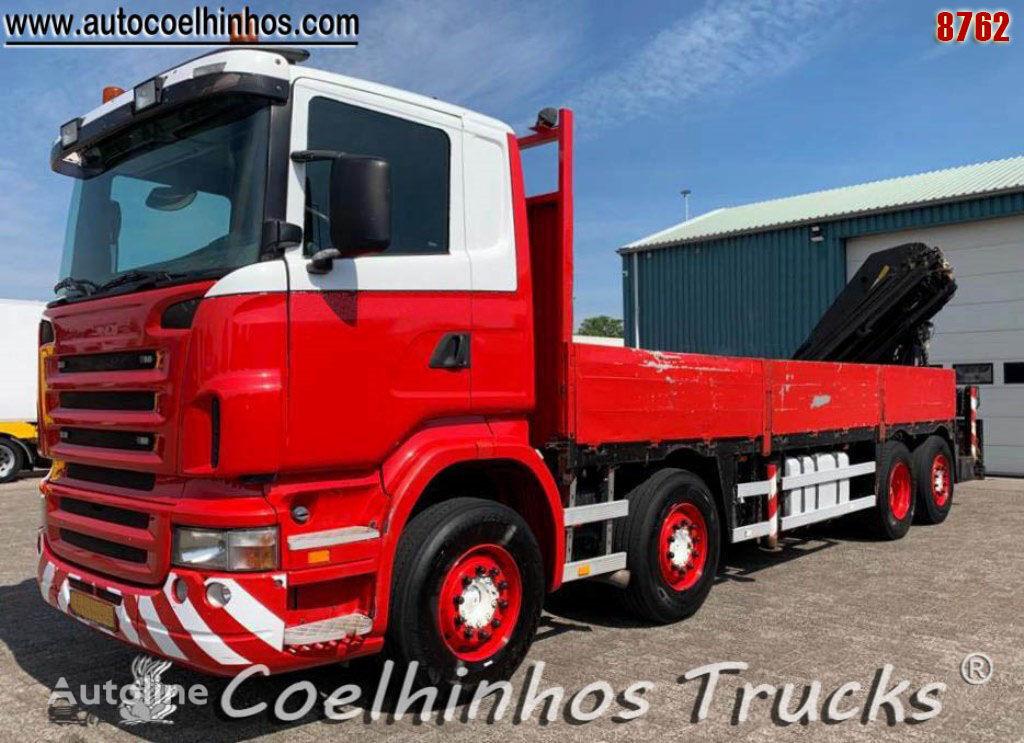 SCANIA R 380 camión caja abierta