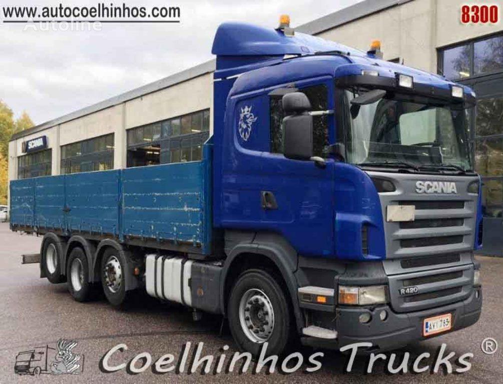 camión caja abierta SCANIA R 420 // 8x2