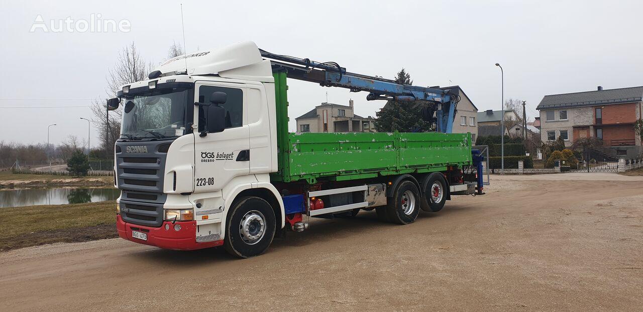 SCANIA R420 camión caja abierta