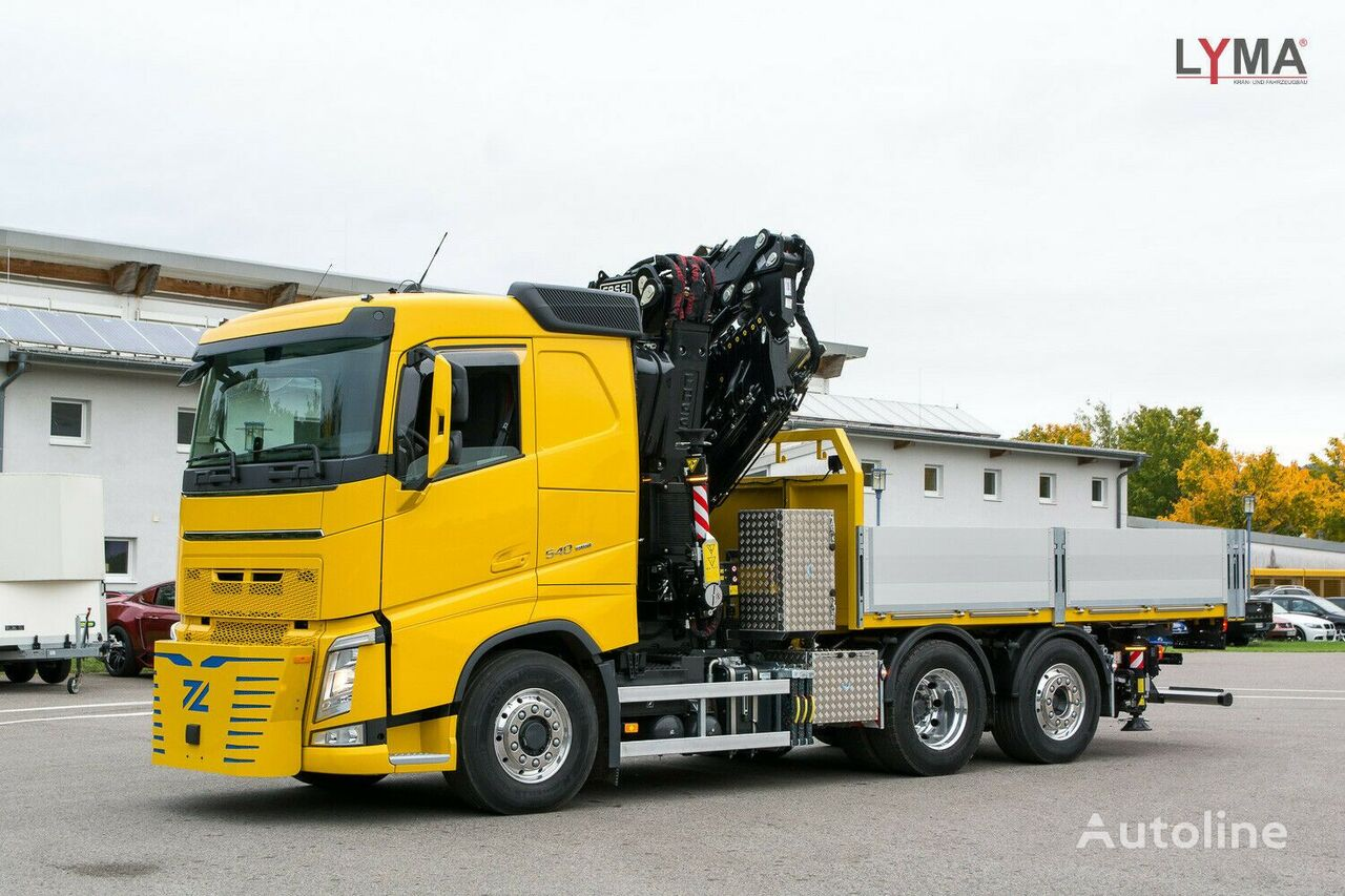 VOLVO 545RA2.26L324  camión caja abierta nuevo