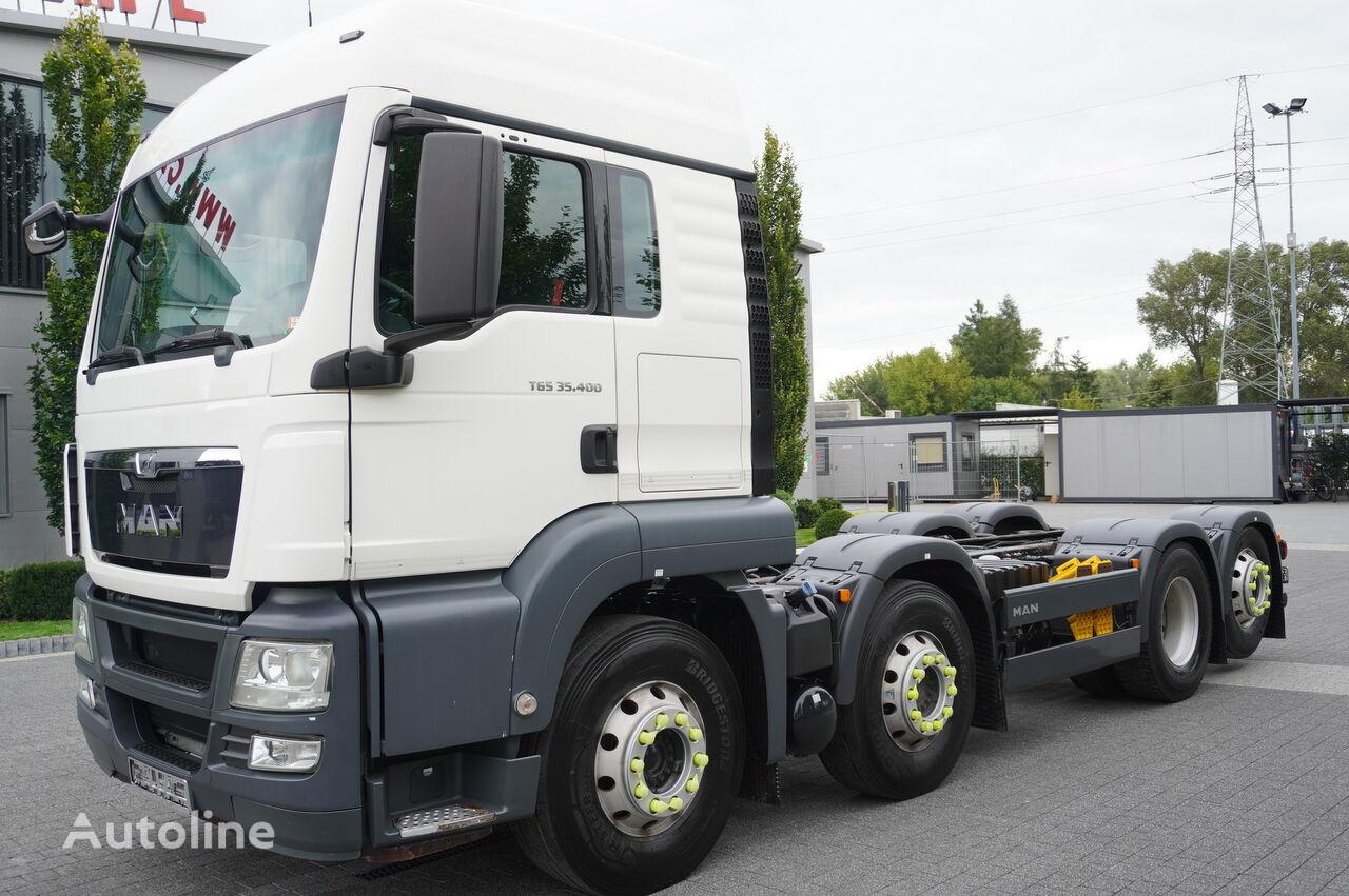 MAN TGS 35.400 8x2x6 BL camión chasis