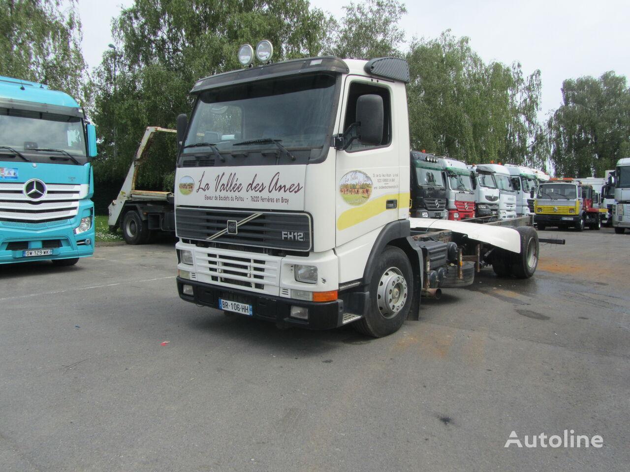 VOLVO FH12 380 camión chasis