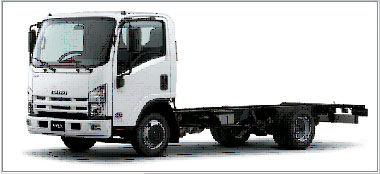 camión chasis ISUZU NQR-90