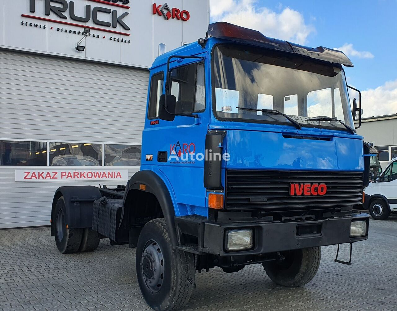 IVECO Magirus 170-340, Full Steel, 4x4  camión chasis