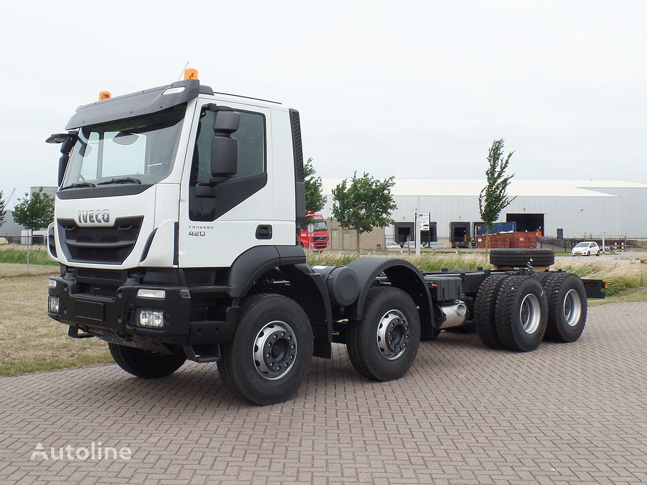 IVECO Trakker AD410T42H 8x4 Chassis cabin camión chasis nuevo