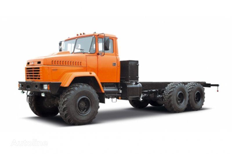 KRAZ 63221 tip 3 camión chasis