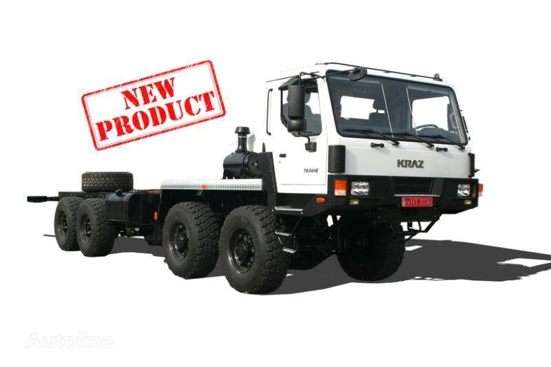 KRAZ 7634NE (N27.3EH) camión chasis