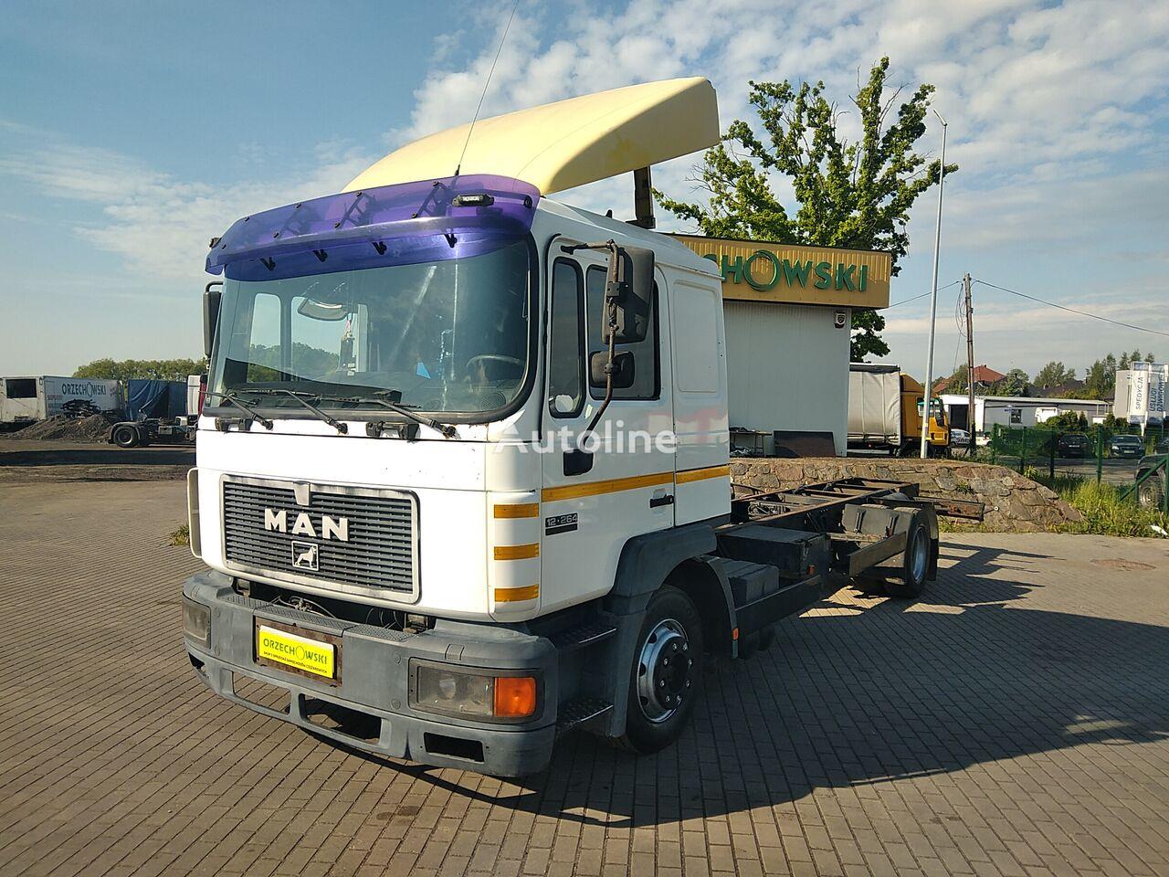 MAN 14.264 camión chasis