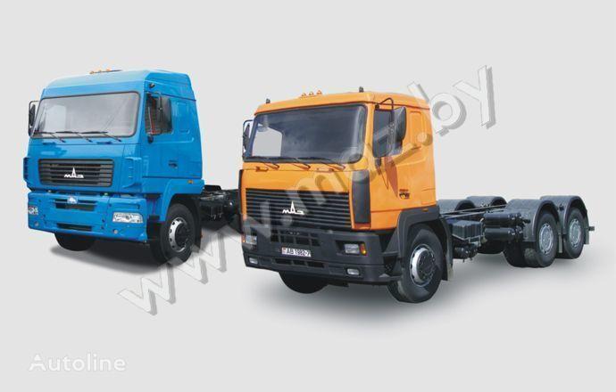 MAZ 6312 camión chasis
