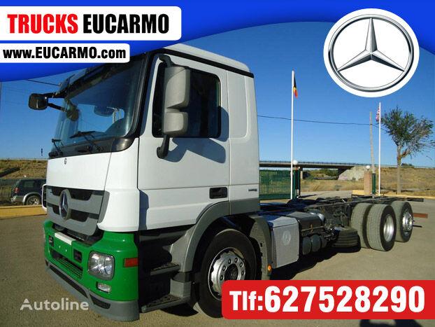MERCEDES-BENZ ACTROS 25 44 camión chasis