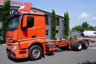 MERCEDES-BENZ Actros 2551 , E5 , 6X2 , chassis 8.1m , retarder , lift axle , S camión chasis