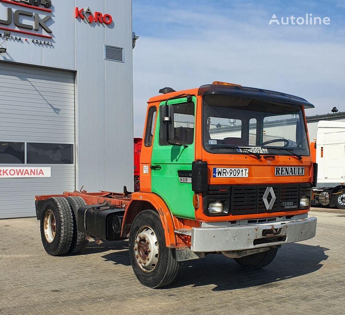 RENAULT Midliner S 170, Full Steel, 4x2  camión chasis