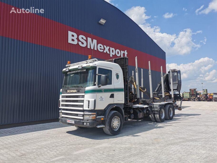 SCANIA 12.400 camión chasis