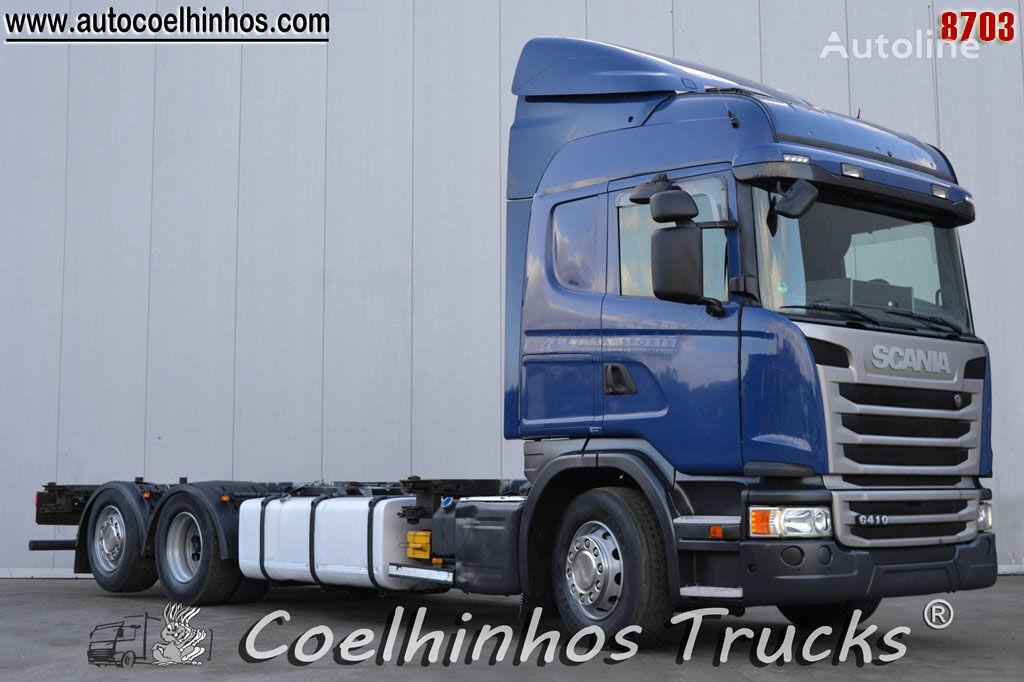 SCANIA G 410 camión chasis