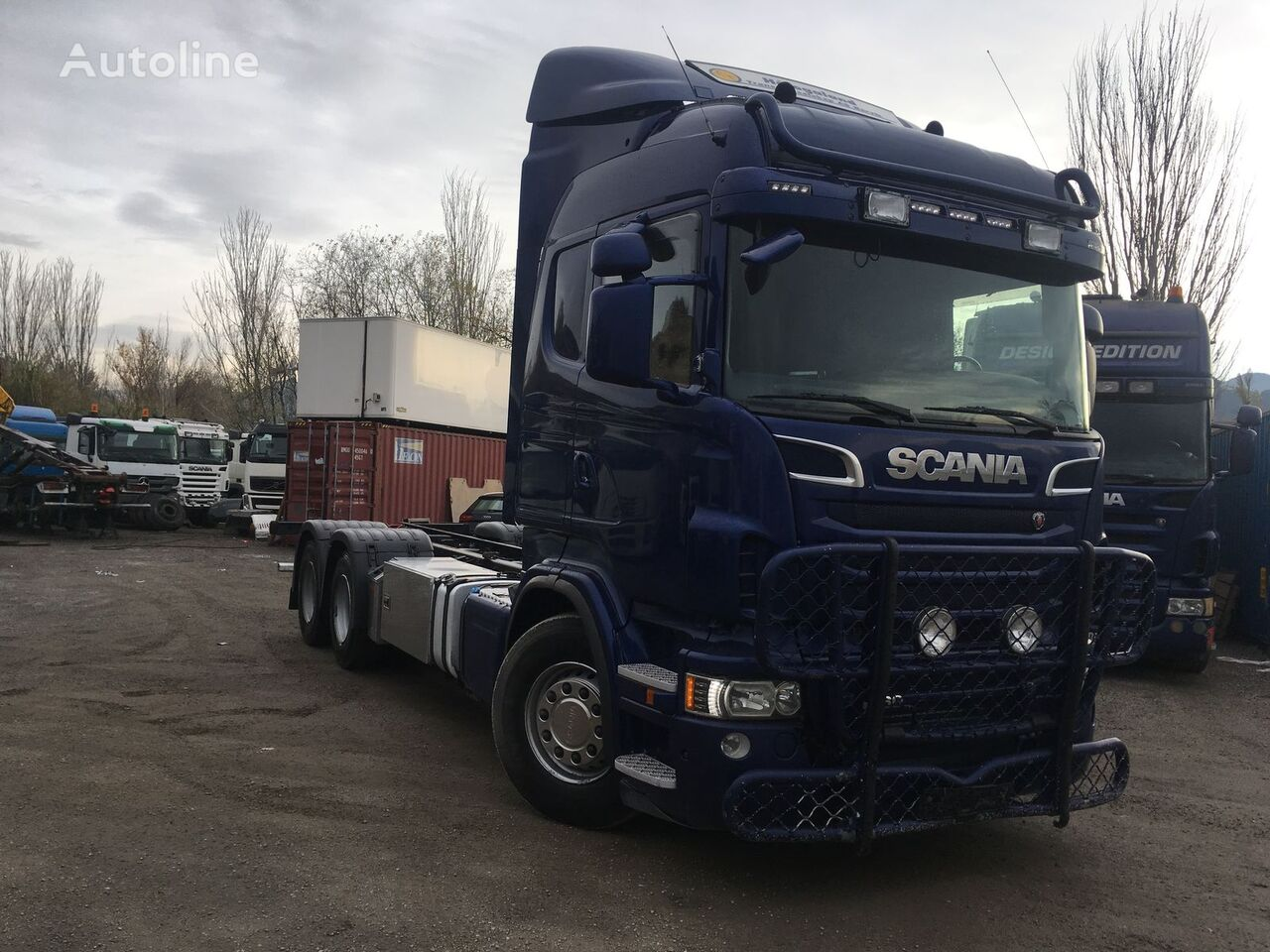 camión chasis SCANIA R560 CHASIS 4500MM 6X2