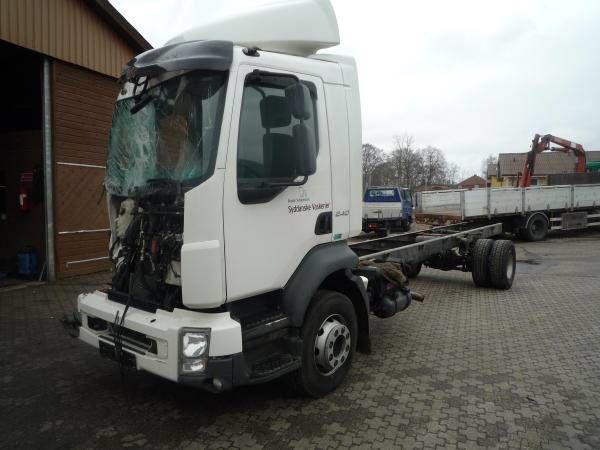 camión chasis VOLVO D7F - 290 HP - EURO 5 para piezas