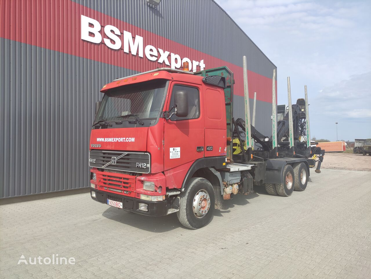 VOLVO FH 12.380, chassis camión chasis