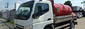 MITSUBISHI CANTER 7C15 camión cisterna