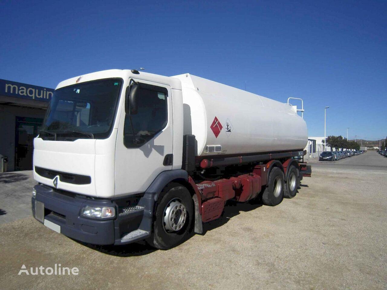 RENAULT 340.26+Ros Roca 3 depósitos  camión cisterna