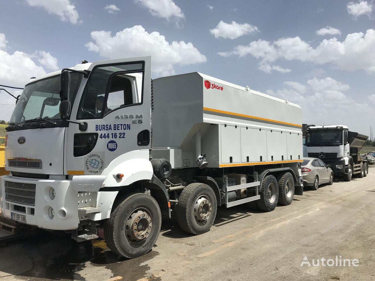 3Kare Toz Malzeme Serici / Çimento Serici camión cisterna de cemento nuevo