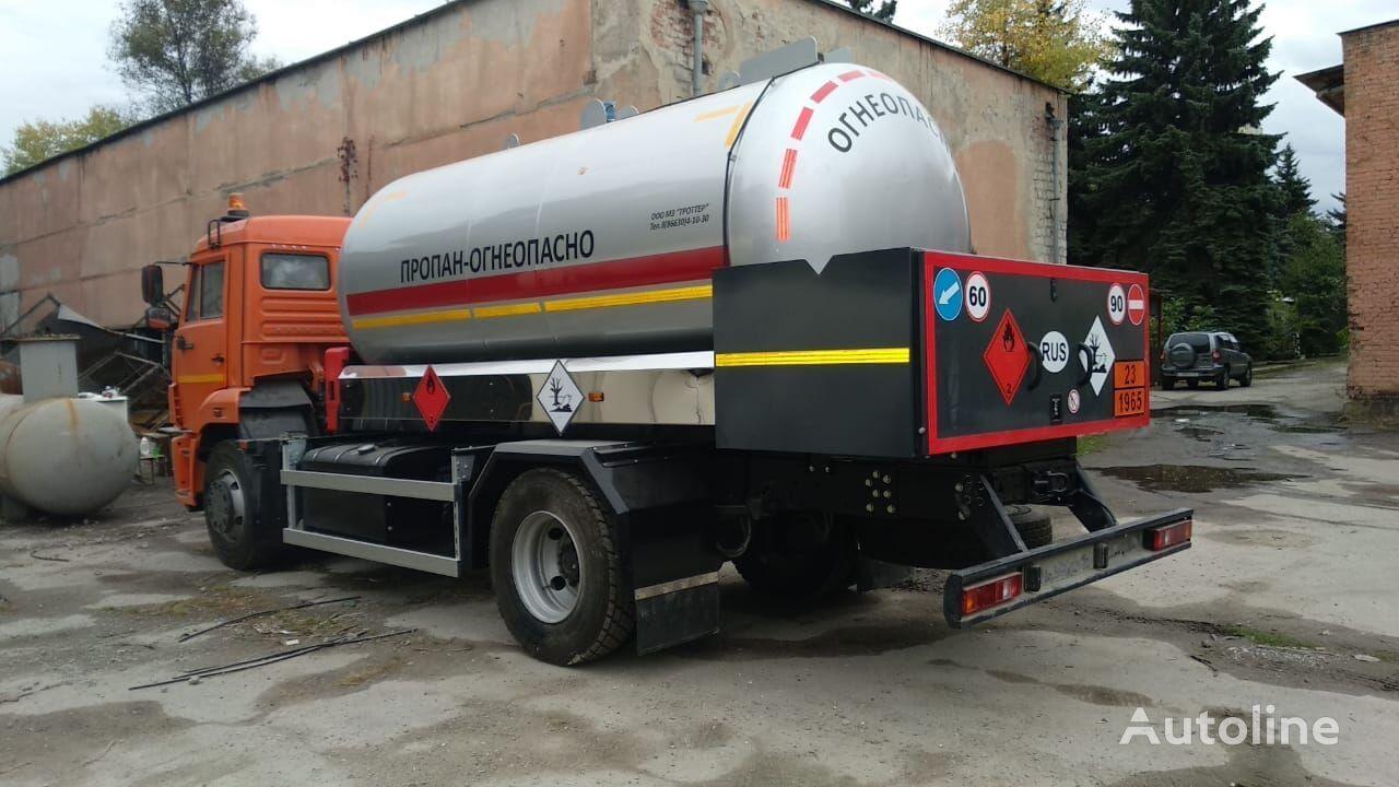 KAMAZ 45253 camión cisterna de gas