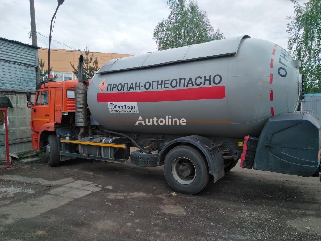 camión cisterna de gas KAMAZ 53605