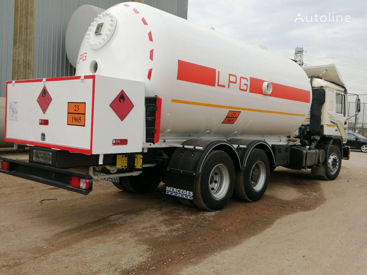 MAN 32000L And 24000L LPG Bobtail Truck Man Diesel camión cisterna de gas