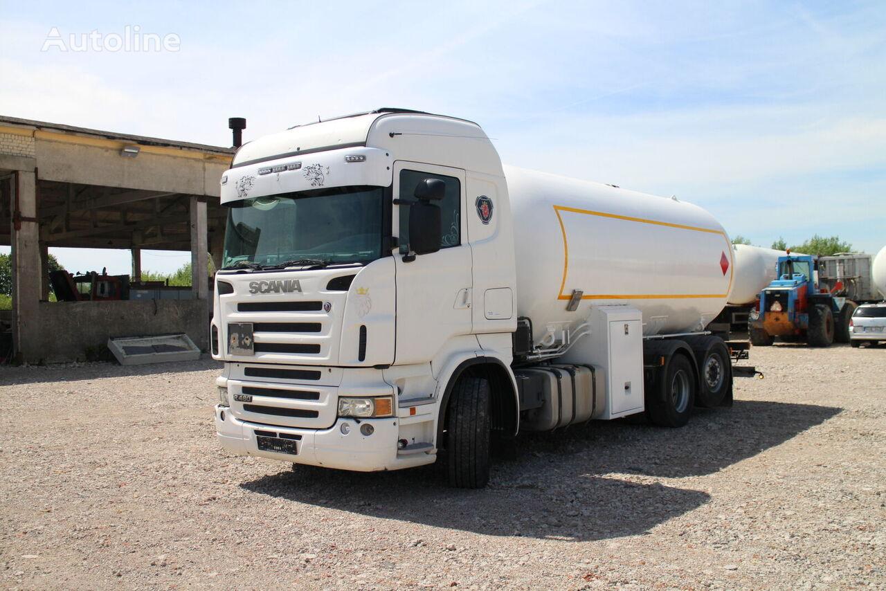 SCANIA R480 camión cisterna de gas