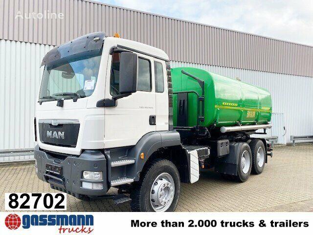 MAN TGS 40.400  camión cisterna