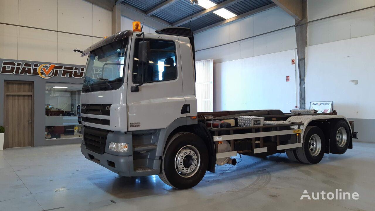 DAF CF 85 380 MULTIFIT camión con gancho