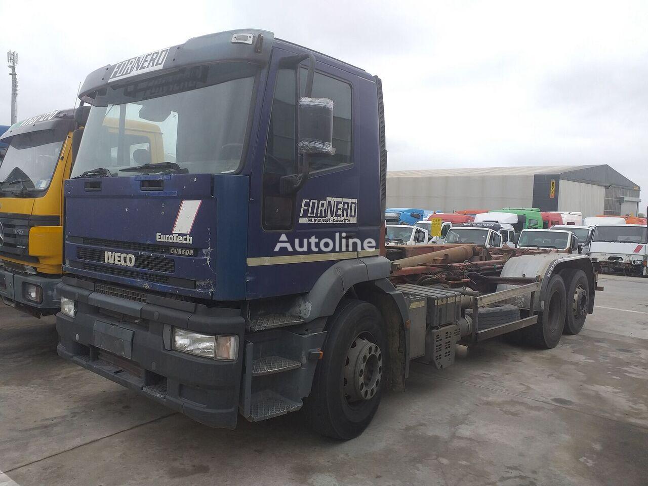 IVECO EUROTEK 240E43Y/PS camión con gancho
