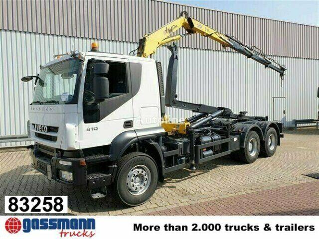 IVECO Trakker AT260T41 6x4  camión con gancho