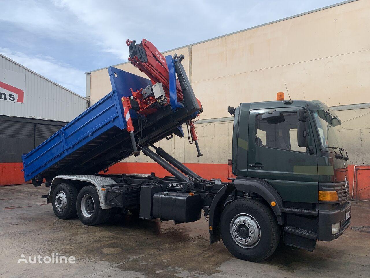 ATEGO 2628 GRUA FASSI 190 + GANCHO camión con gancho